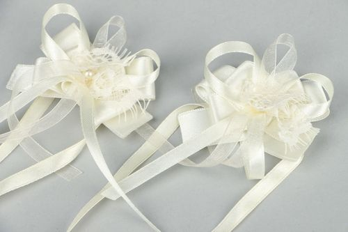 Decoration for wedding glasses - MADEheart.com