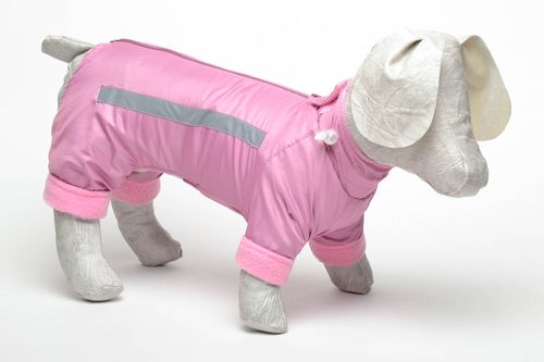 Pink dog jumper - MADEheart.com