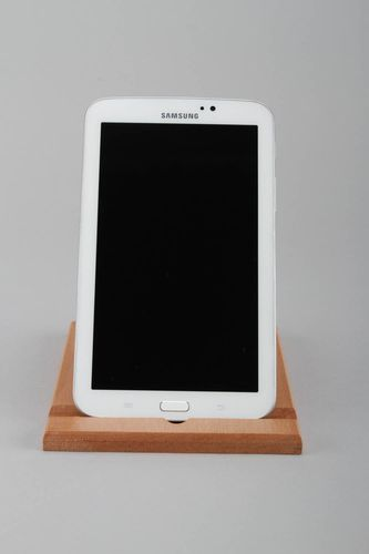 Wooden stand for telephone - MADEheart.com