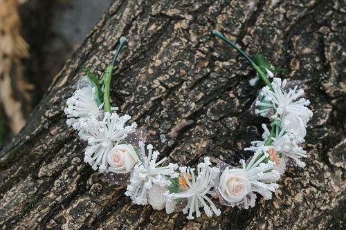 Headband Magnificent bouquet - MADEheart.com