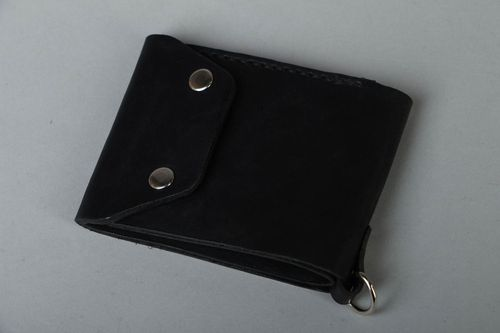Mens leather wallet - MADEheart.com