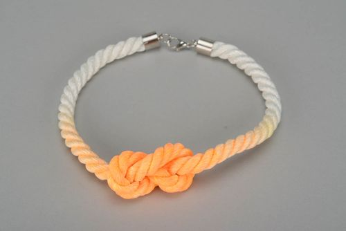 Stylish Necklace Knot - MADEheart.com