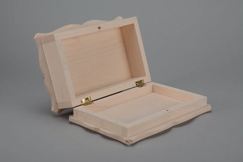 Wooden blank box for creative work - MADEheart.com