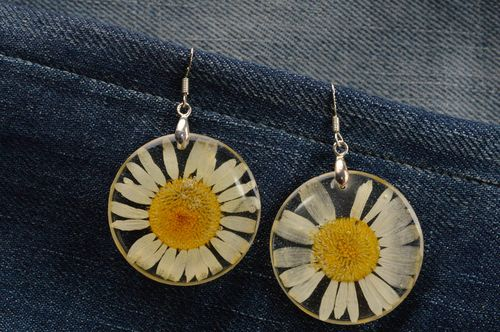 Handcrafted jewelry earrings for girls botanical jewelry gifts for ladies - MADEheart.com