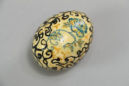 Painted decorative egg - MADEheart.com