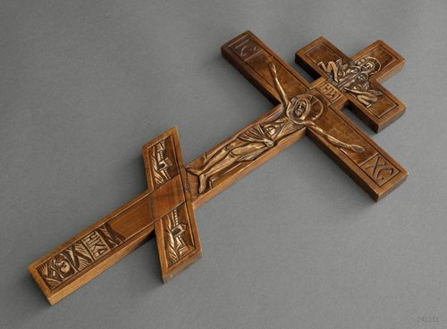 Wall orthodox cross - MADEheart.com