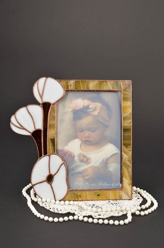 Gentle handmade photo frame glass fusing ideas handmade gifts for girls - MADEheart.com