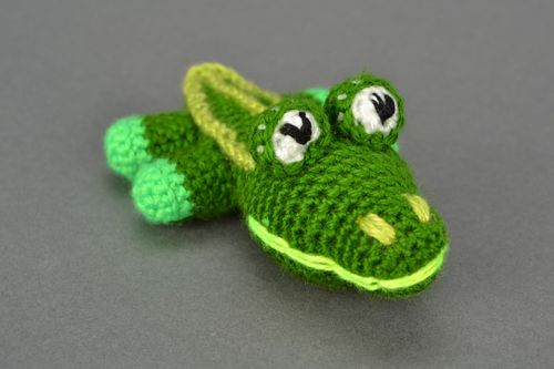 Toy Crocodile - MADEheart.com