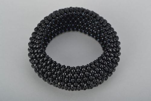 Volume bracelet with Japanese beads - MADEheart.com