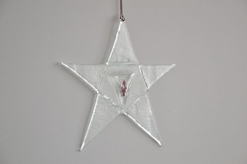 Glass Christmas decoration - MADEheart.com