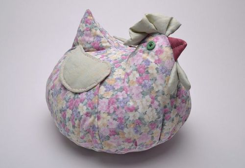 Pillow toy Brood hen - MADEheart.com