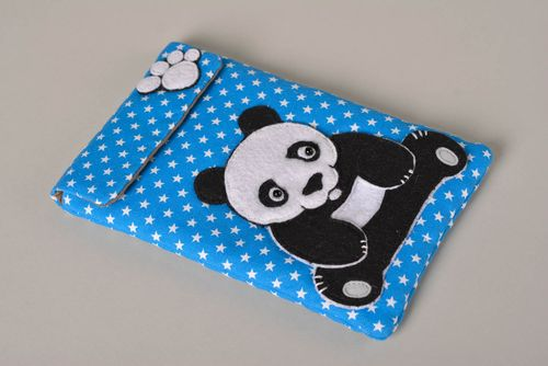 Unusual handmade tablet case stylish gadget accessories handmade gift ideas - MADEheart.com