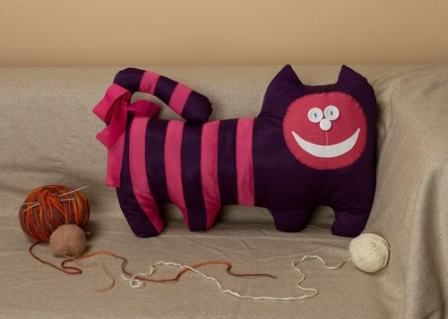 Pillow toy Violet Cat - MADEheart.com