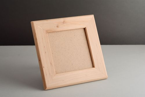 Wooden blank photo frame - MADEheart.com