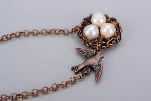 Pendant Swallow nest - MADEheart.com