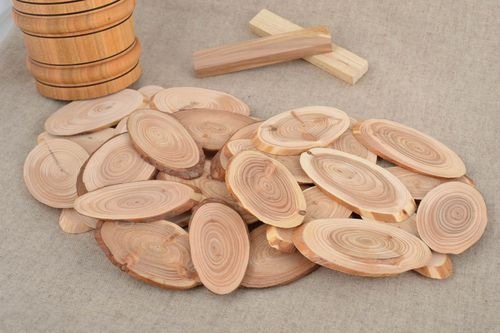 Handmade wooden stands for hot set of three pieces for kitchen decorative ideas - MADEheart.com