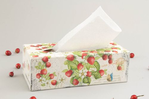 Decorative tissue box - MADEheart.com
