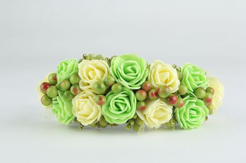 Flower hairband - MADEheart.com