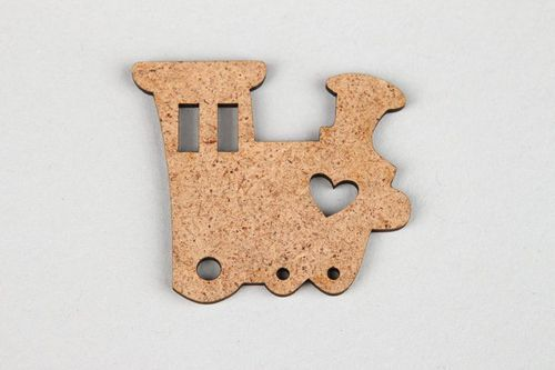 Chipboard Little train - MADEheart.com