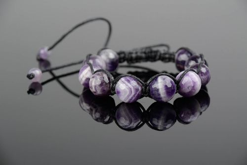 Armband mit Amethyst  - MADEheart.com