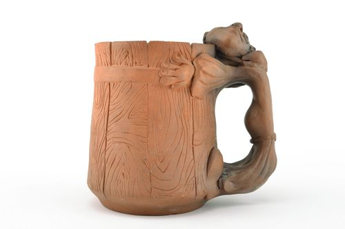 Ceramic beer mug Meanie - MADEheart.com