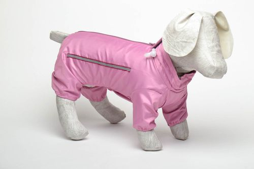 Pink clothing for dog - MADEheart.com