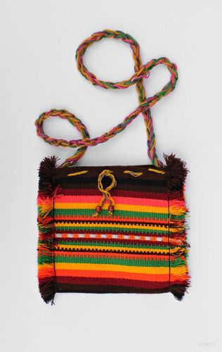 Bright purse in ethnic style - MADEheart.com