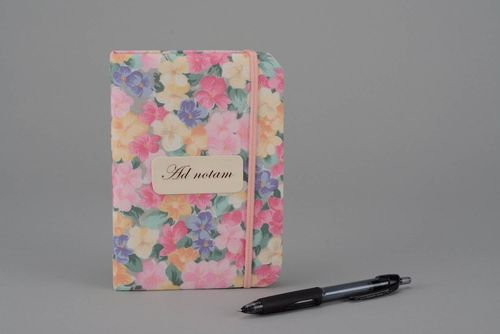 Flavored notebook Floral - MADEheart.com