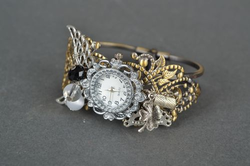 Watch with Czech glass - MADEheart.com